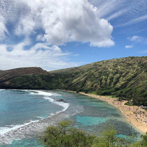 Hawaii Honolulu Beach